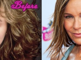 Jennifer Grey Before And After the Nose Job