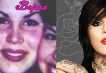 With Kat Von D Plastic Surgery Before and After Pics