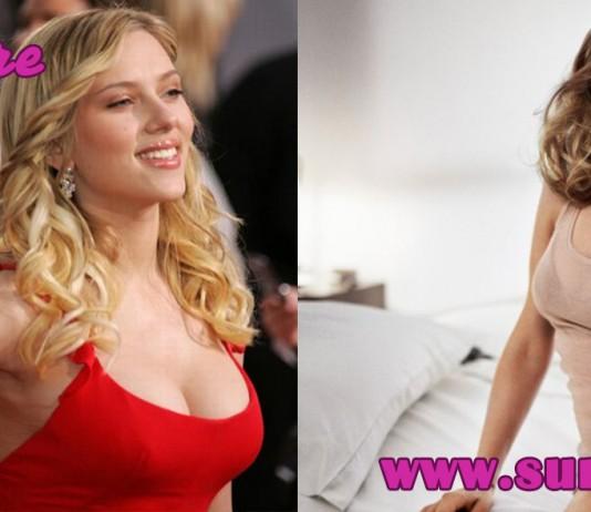 scarlett johansen breast reduction