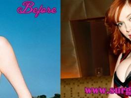 christina hendricks Bra Size Before and After Photos