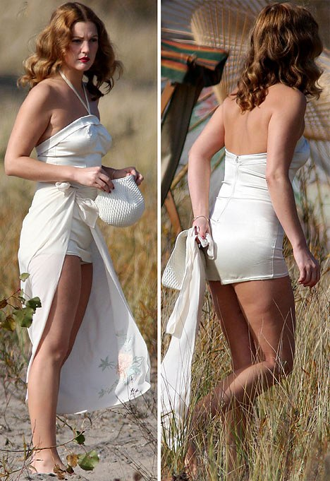 Drew Barrymore cellulite