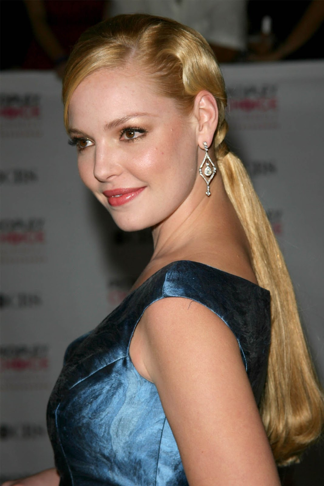 Katherine Heigl before... Katherine Heigl