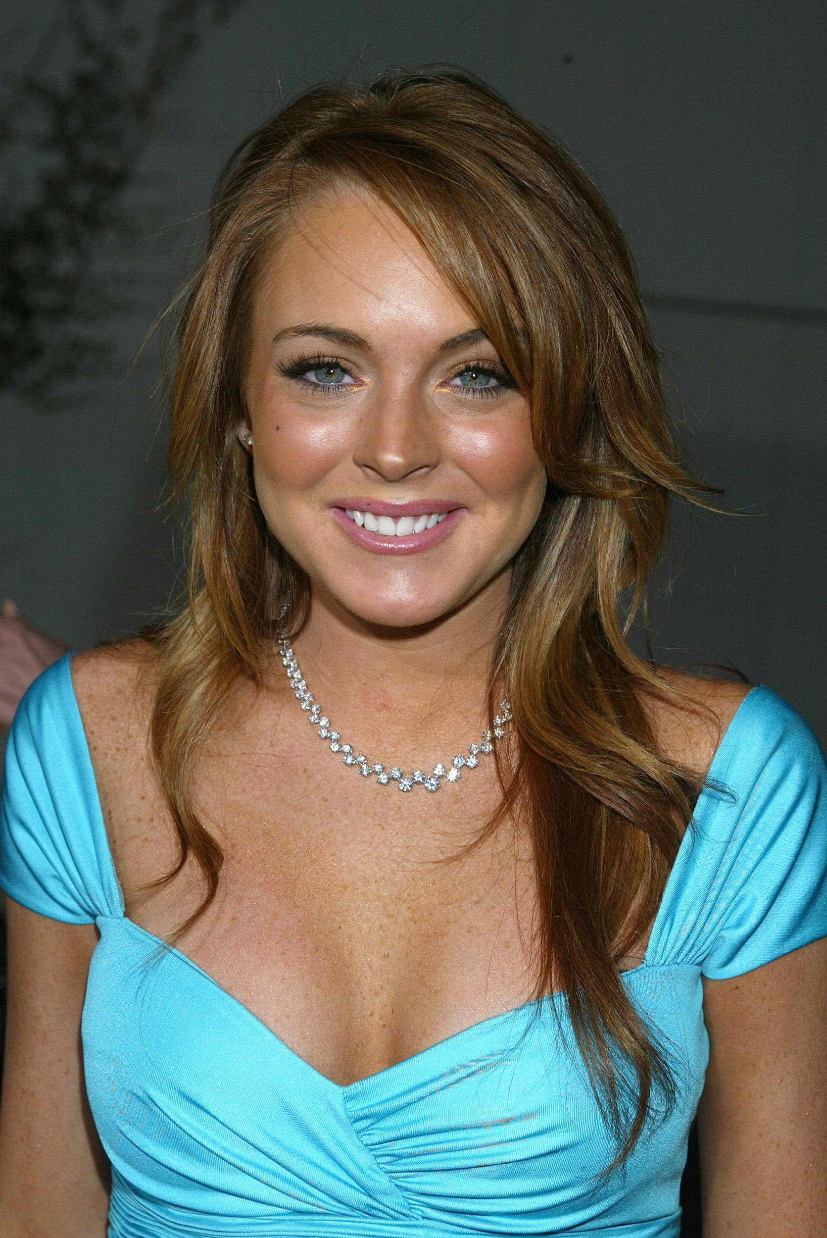 Lindsay Lohan Boob job...