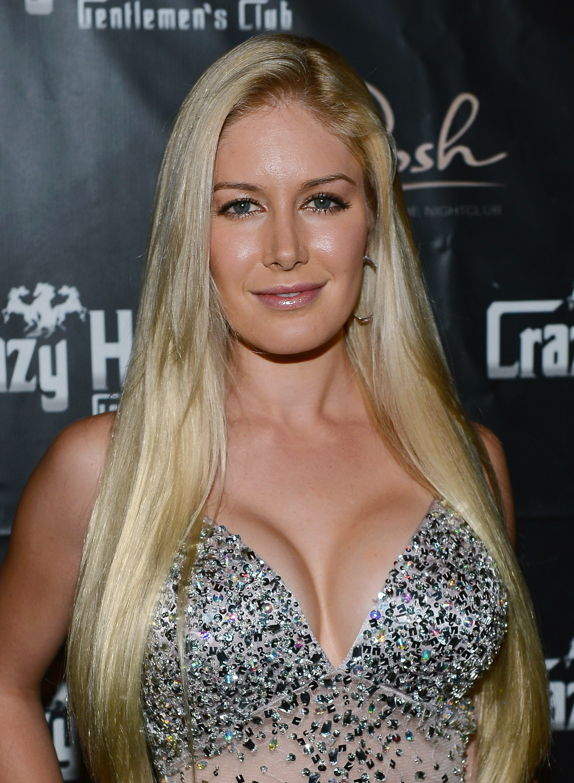 Heidi Montag boob job