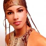 Alicia Keys Young