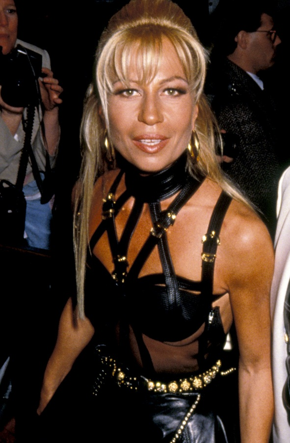 donatella versace young