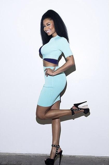 Nicki Minaj Fake Butt